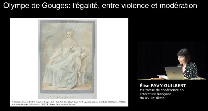 JOURNÉE D'ÉTUDES « Olympe de Gouges » - Partie 1