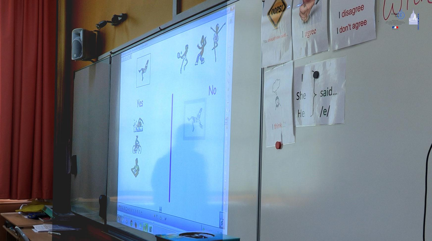 intéractivité en classe