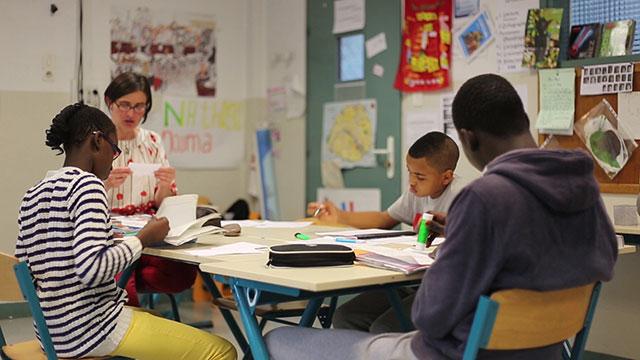 La classe d'accueil: un exemple d'inclusion au CLG S. Delaunay