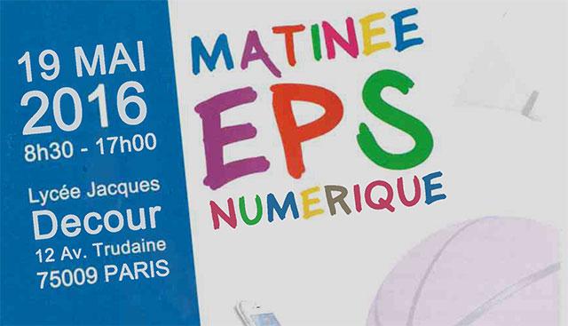 EPS - Numérique 2016 : Allocution du DANE