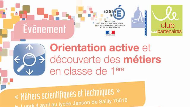 Semaine de l'orientation active 2016