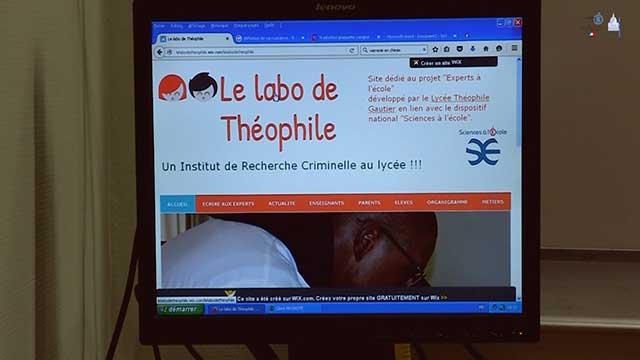 Le labo de Théophile