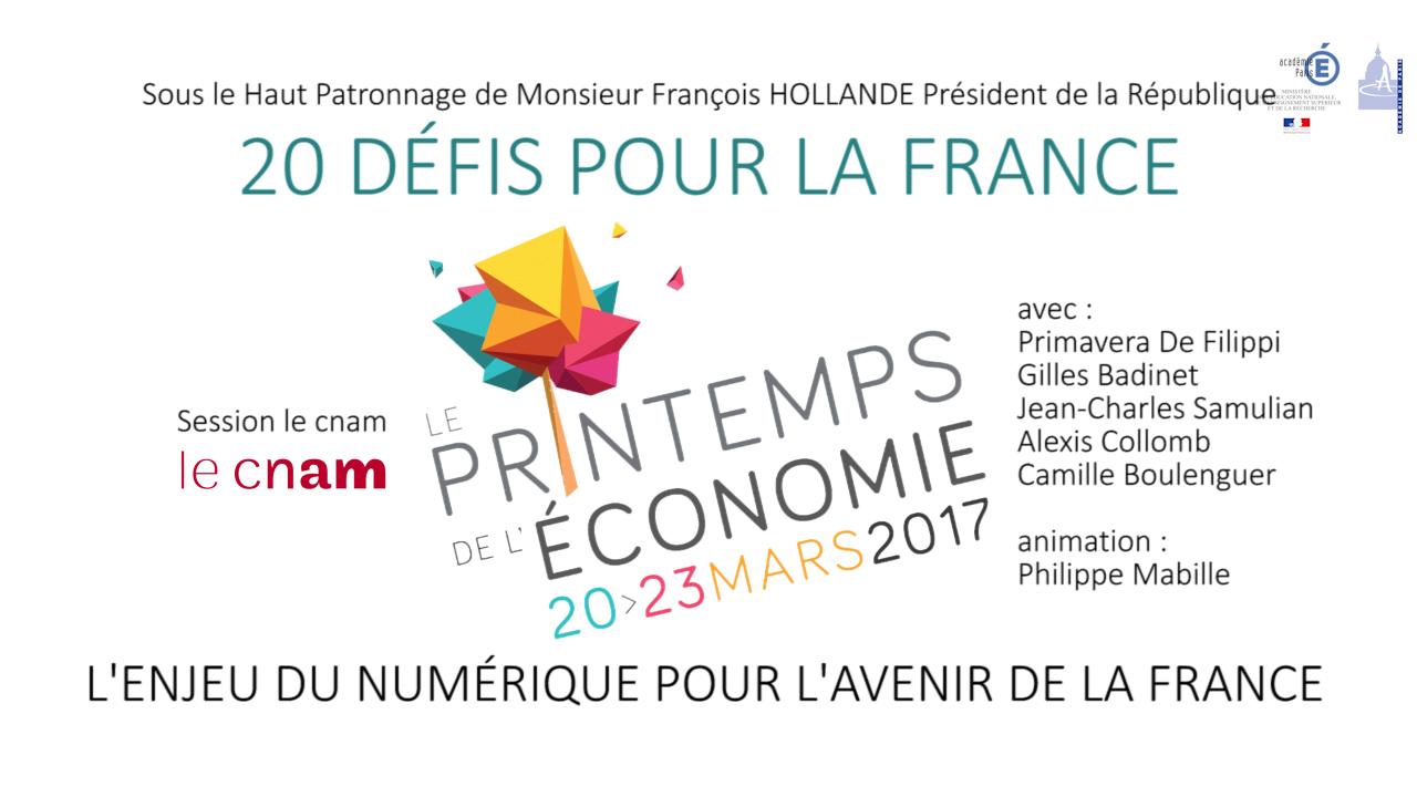 L'enjeu du numérique pour l'avenir de la France