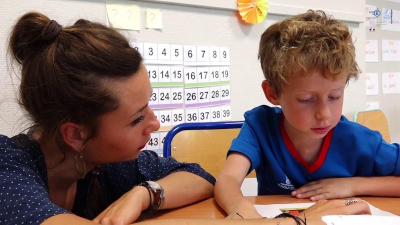 Un an de CP dédoublés à l'école Françoise Dorléac (18e)