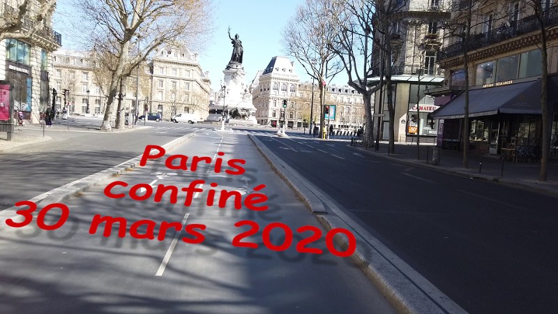 Paris Centre confiné