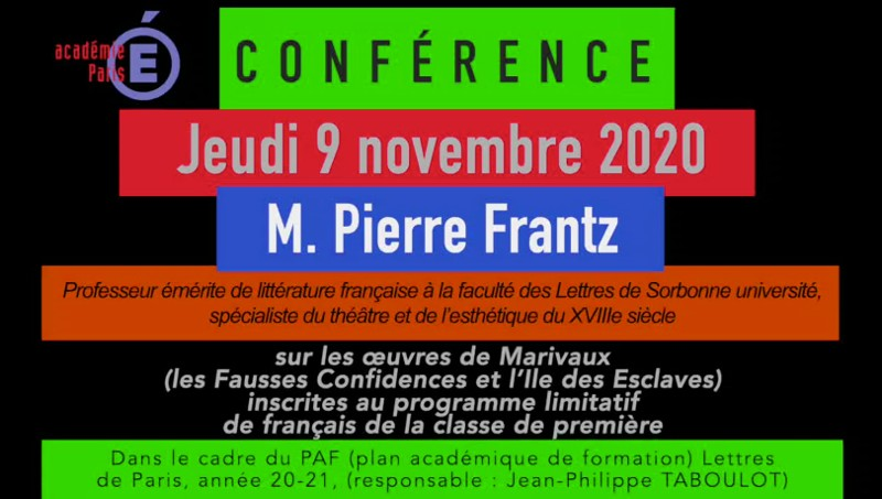 Conférence de