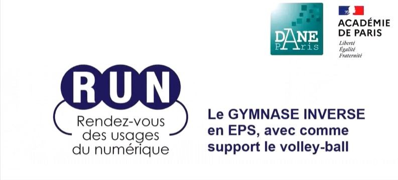 RUN - Le gymnase inverse en EPS, avec comme support le volley-ball